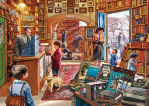 HIDDEN TREASURES Book shop Jigsaw Puzzle 1000 pcs Gibsons