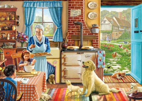 HOME SWEET HOME Jigsaw Puzzle 1000 pcs Gibsons