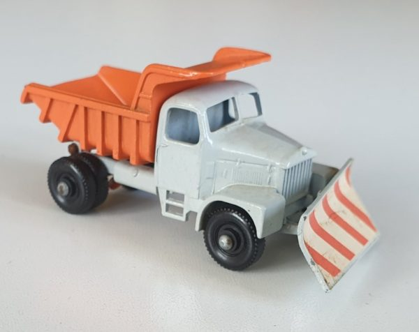 Matchbox 16 SCAMMELL 'MOUNTAINEER' SNOWPLOUGH Vintage Diecast Model 1960s
