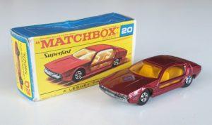 Vintage Matchbox Superfast 20 LAMBORGHINI MARZAL Diecast Model
