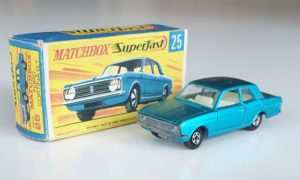 Matchbox Superfast 25 Ford Cortina GT Diecast Model