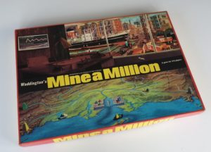MINE A MILLION Vintage board game Waddington 1960s