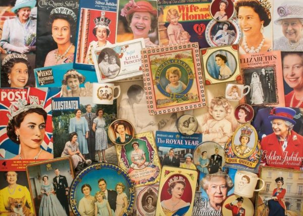 OUR GLORIOUS QUEEN Jigsaw Puzzle 1000 pieces Gibsons