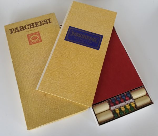PARCHEESI Vintage board game 1970s Selchow & Righter