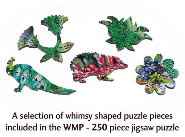 PEACOCK OF INDIA Wentworth Wooden Jigsaw Puzzle Whimsies