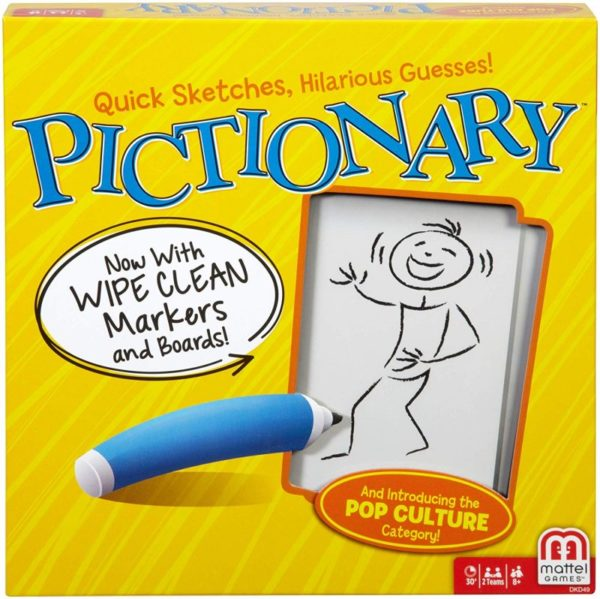 Pictionary Game box