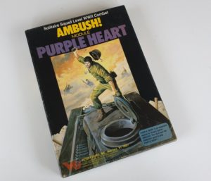 Vintage PURPLE HEART Expansion for AMBUSH Board Game Victory Games Avalon Hill