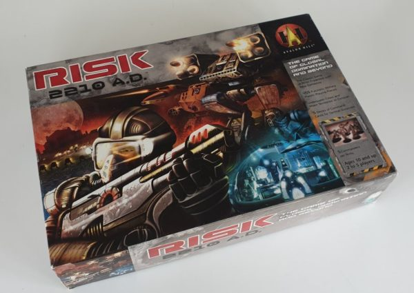 RISK 2210 AD Board Game 1st Edition
