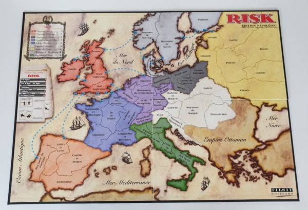 RISK EDITION NAPOLEON Vintage Board Game Tilsit 1999
