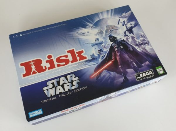 RISK STAR WARS TRILOGY EDITION Board Game 2006