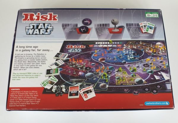 RISK STAR WARS TRILOGY EDITION Board Game
