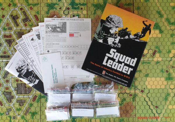 SQUAD LEADER Board Game AVALON HILL