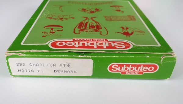 Vintage Subbuteo LW Team 392 CHARLTON ATHLETIC