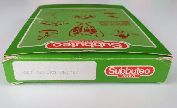 Vintage Subbuteo LW Team 622 Oxford Utd