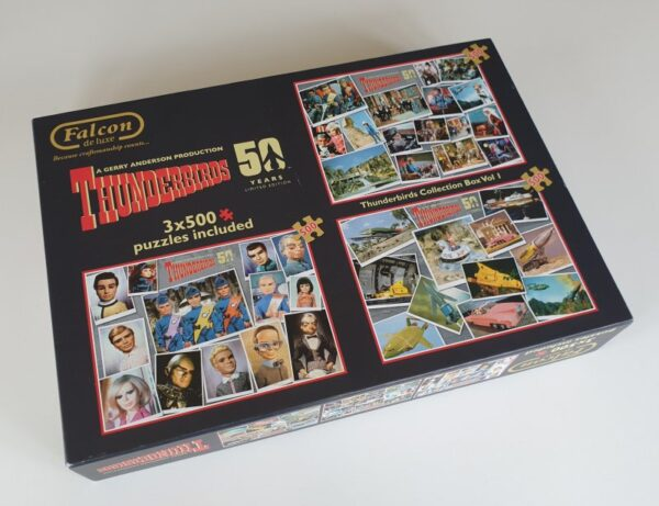 Thunderbirds Jigsaw Puzzle (3 x 500pc) 50th Anniversary Collectors Edition