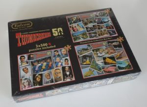 THUNDERBIRDS 50th ANNIVERSARY 3 x 500 Jigsaw Puzzles Collectors Set Falcon