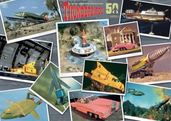 THUNDERBIRDS 50th ANNIVERSARY 3 x 500 Jigsaw Puzzles Collectors Set Falcon