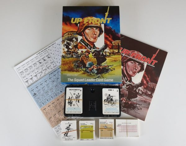 UP FRONT Avalon Hill Squad Leader Card Game