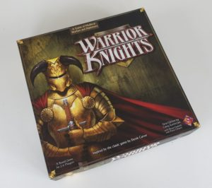 WARRIOR KNIGHTS Board Game by Fantasy Flight Games 2006