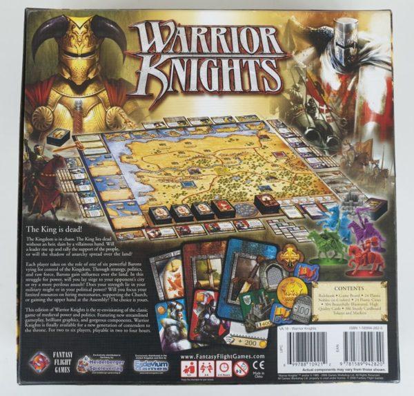 WARRIOR KNIGHTS Board Game by Fantasy Flight Games 2006