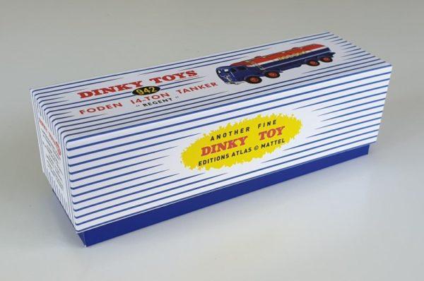 Atlas Dinky 942 Foden Regent Tanker box
