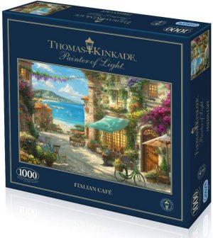 ITALIAN CAFE Jigsaw Puzzle Kinkade Gibsons 10001000