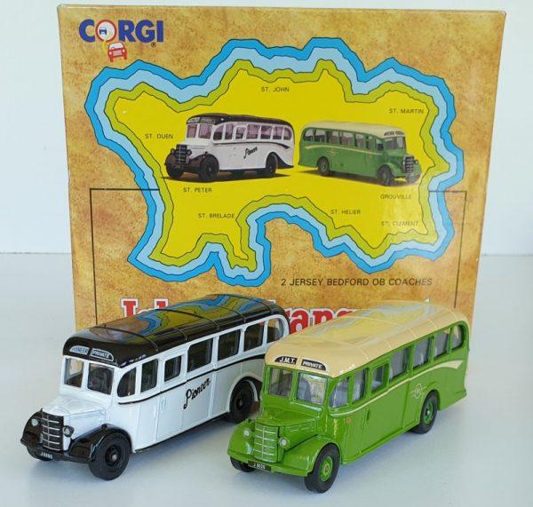 Corgi 97741 Island Transport Bedofrd OB Coach Set Jersey