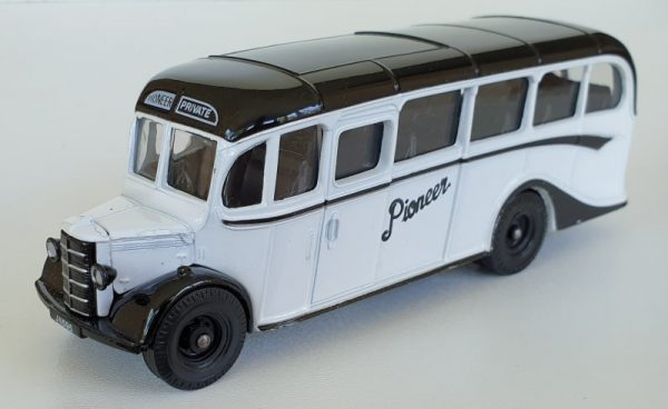 Corgi 97741 Bedford OB Coach Jersey Island Transport Pioneer