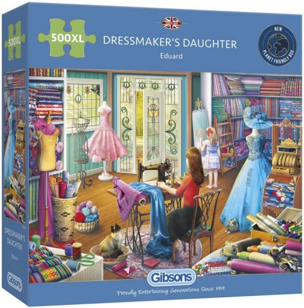 DRESSMAKERS DAUGHTER Jigsaw Puzzle 500 XL Gibsonss