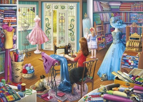 DRESSMAKERS DAUGHTER Jigsaw Puzzle Gibsons