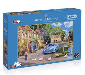 MORNING DELIVERY Jigsaw Puzzle 500 XL (Extra Large) pieces Gibsons