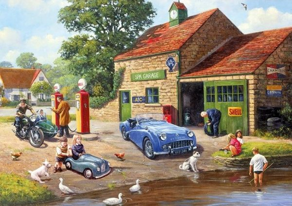 PONDS AND PUMPS Jigsaw Puzzle 2 x 500 pieces Gibsons