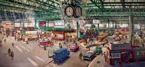 UNDER THE CLOCK Jigsaw Puzzle 636 pieces Gibsons