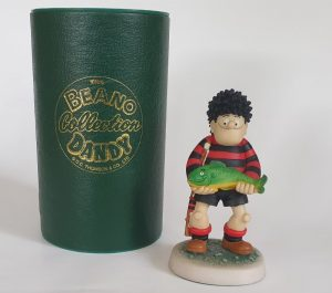 DENNIS THE MENACE FISHING BDS06 Collectable Beano figure by Robert Harrop