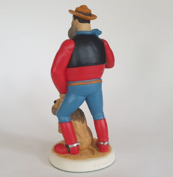 DESPERATE DAN ONE MAN AND HIS DAWG Collectable Figure BDS08 by Robert Harrop Beano Dandy