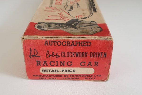 Vintage 1950s Tinplate JOHN COBB RACING CAR by Minimodels