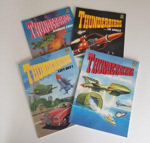 THUNDERBIRDS Graphic Novels Comic Albums 1991 Ravette