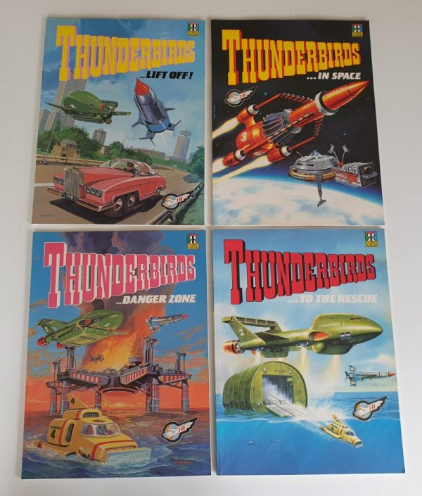 THUNDERBIRDS Graphic Novels Comic Albums 1991 Ravette