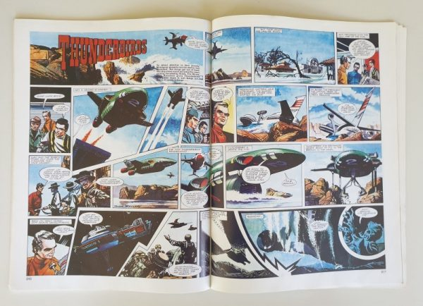 Vintage THUNDERBIRDS Comic Strip CENTURY TV21