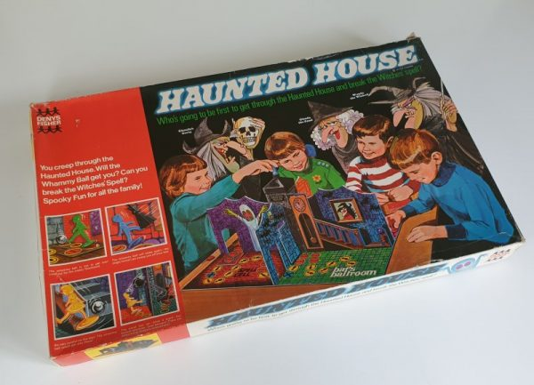 HAUNTED HOUSE Vintage Board Game Denys Fisher 1970s