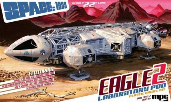 MPC EAGLE TRANSPORTER II with LAB POD 1/48 Model Kit