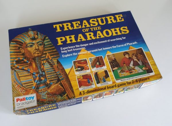 TREASURE OF THE PHARAOHS Vintage board game 1970s Palitoy