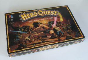 Vintage HEROQUEST Board Game 1989 MB Games