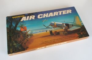 Vintage AIR CHARTER Board Game Waddingtons 1960s