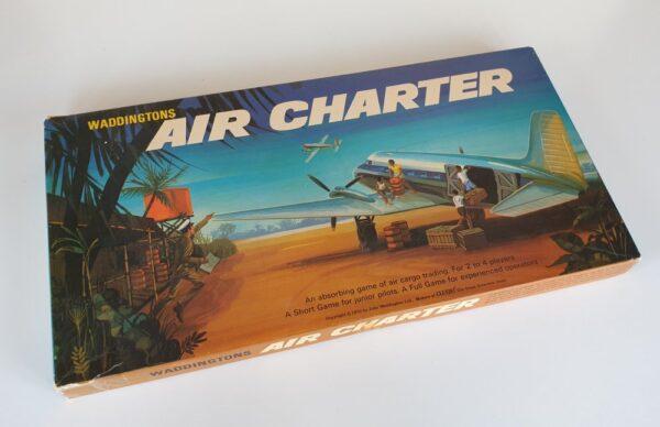 Vintage AIR CHARTER Board Game Waddingtons 1960s