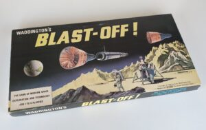 Vintage BLAST OFF Board Game Waddingtons 1960s