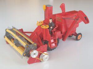 Vintage Corgi 1111 Massey-Ferguson Combine Harvester 1960's