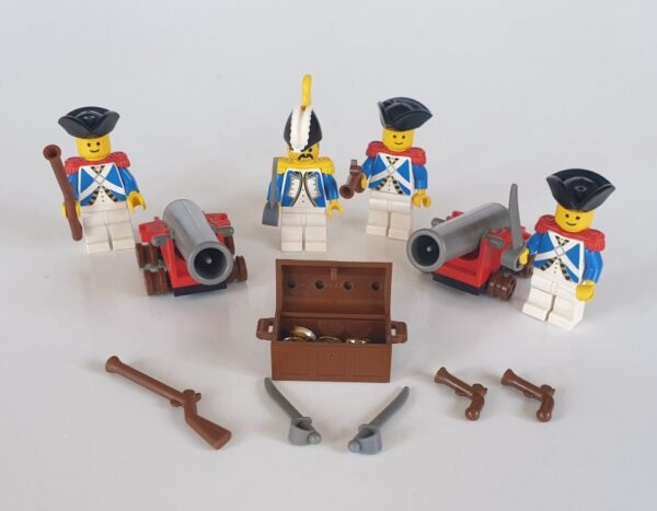 Lego 6274 CARRIBEAN CLIPPER MINIFIGURES