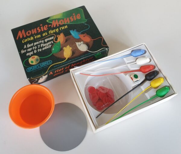 Vintage MOUSIE MOUSIE game by Spears 1960s