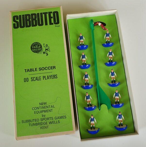 Vintage Subbuteo HW Team 17 Sheffield Wednesday Brighton 1970's